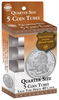 5 Round Coin Tube - Quarter