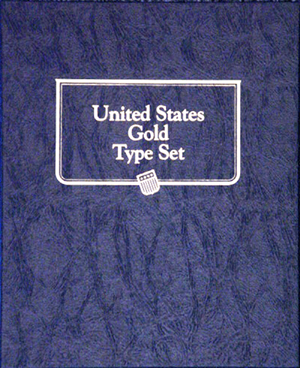 U.S. Gold Type Set Whitman Album