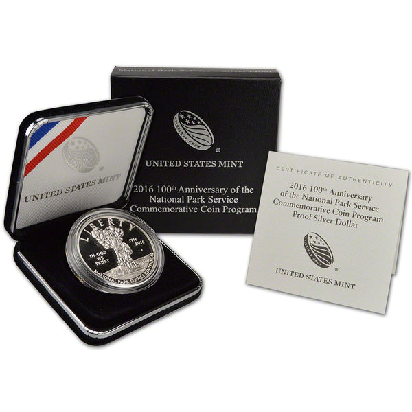 2016 100th Anniversary Of The National Park Service Commemorative Proof