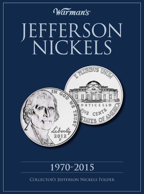 Jefferson Nickels Whitman Folder 1970-2015