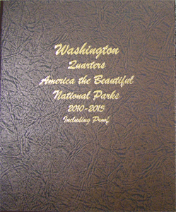 Washington Quarters ATB, N/P Dansco Album 2010-2015. P.D.S & Sil. Pr. Vol I