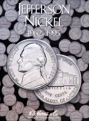 Jefferson Nickels Harris Folder #2 1962-1995