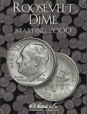 Roosevelt Dimes Harris Folder #3 Starting 2000