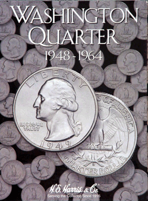 Washington Quarters Harris Folder #2, 1948-1964