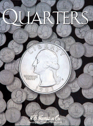 Washington Quarters Harris Folder Plain