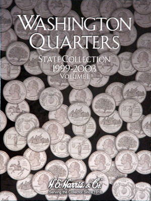 State Quarter Collection Harris Folder 1999-2003 Vol I
