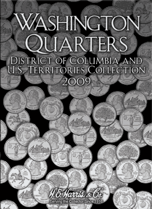 State Quarter Collection Harris Folder P&D 2009 Vol III