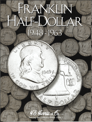 Franklin Half Dollar Harris Folder 1948-1963