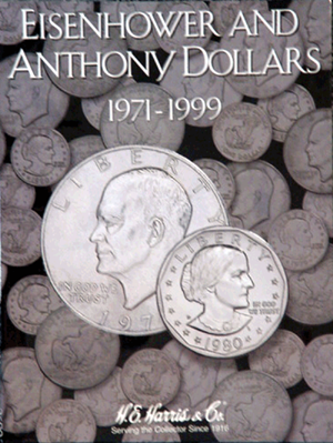 Eisenhower/Anthony Dollar Harris Folder, 1971-1999