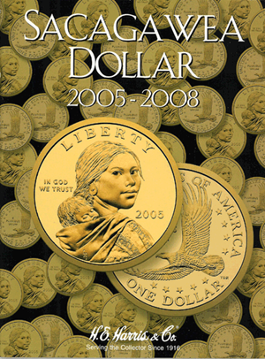 Sacagawea Dollars Harris Folder, 2005-2008