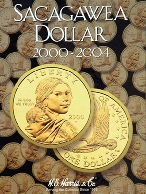 Sacagawea Dollars Harris Folder, 2000-2004