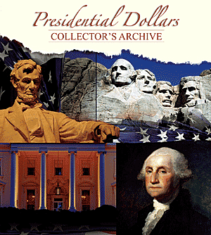 Presidential Dollar Collectors Archive Folder