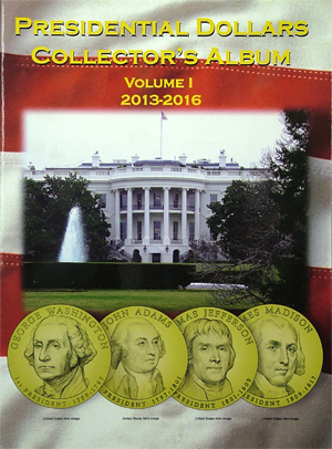 Presidential Dollar Collector's 'Folder' - #1