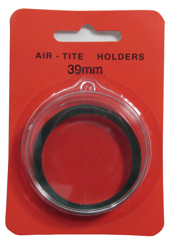 Air Tite 39mm Retail Package Holders - Ornament Green