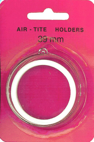 Air Tite 39mm Retail Package Holders - Ornament White Ring