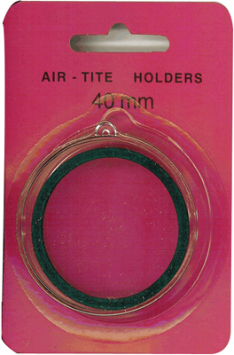 Air Tite 40mm Retail Package Holders - Ornament Green