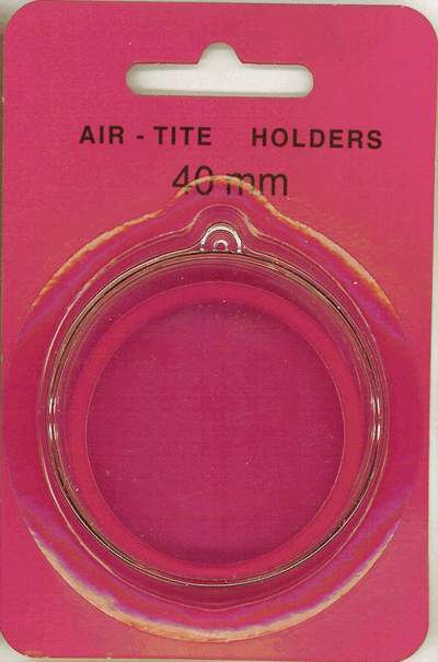 Air Tite 40mm Retail Package Holders - Ornament Red