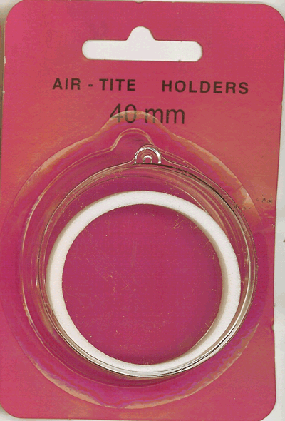 Air Tite 40mm Retail Package Holders - Ornament White