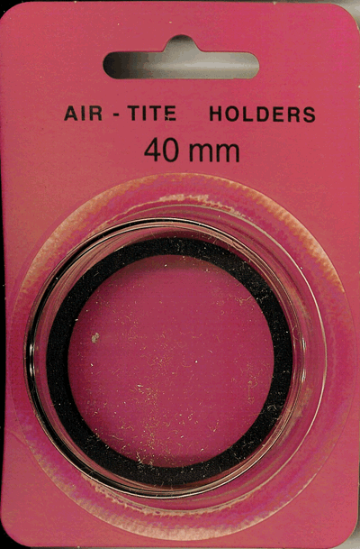 Air Tite 40mm Retail Package Holders