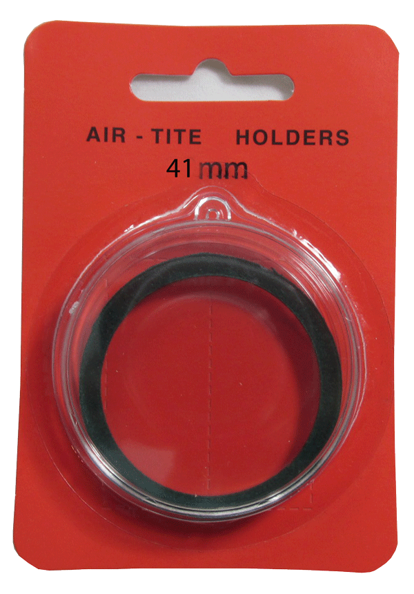 Air Tite 41mm Retail Package Holders - Ornament Green