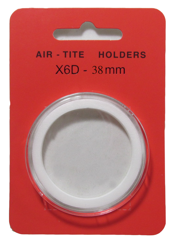 Air Tite High Relief 38mm Retail Package Holders - Model X6D