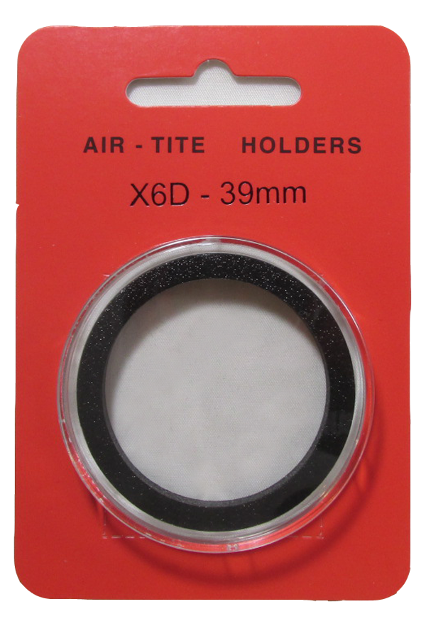 Air Tite High Relief 39mm Retail Package Holders - Model X6D