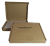 American Silver Eagle 40.6mm Direct-Fit Guardhouse coin holders - (L dia) / 50 per box.