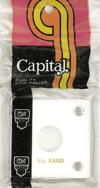 Capital Plastics 144 Coin Holder - 1/10 oz. Krug