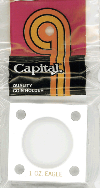 Capital Plastics 144 Coin Holder - 1 oz. Eagle