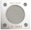 Capital Plastics 144 Coin Holder - 1 oz. Platinum Eagle