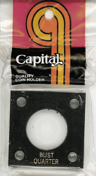 Capital Plastics 144 Coin Holder - Bust 25c
