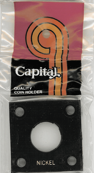 Capital Plastics 144 Coin Holder - Nickel