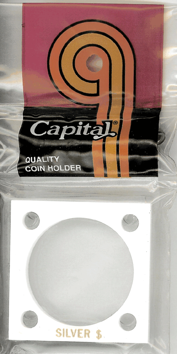 Capital Plastics 144 Coin Holder - Silver $