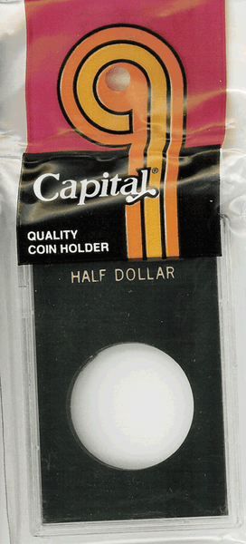 Capital Plastics Caps Coin Holder - Half $