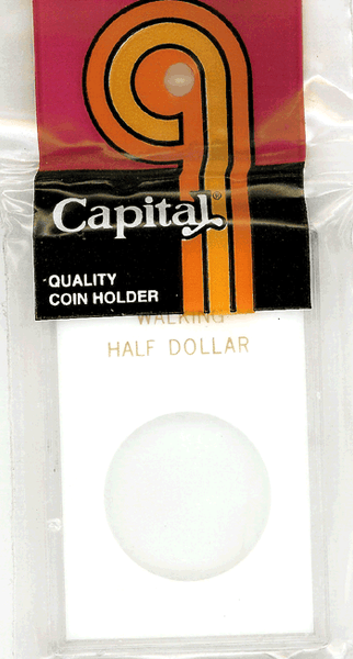 Capital Plastics Caps Coin Holder - Walking 50c