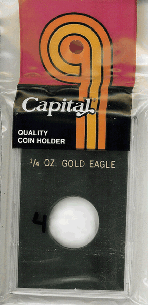 Capital Plastics Krown Coin Holder - 1/4 oz. Eagle