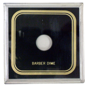 Capital Plastics VPX Coin Holder - Barber Dime