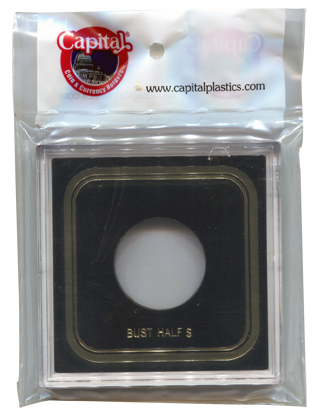 Capital Plastics VPX Coin Holder - Bust Half