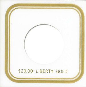 Capital Plastics VPX Coin Holder - Liberty Dollar20