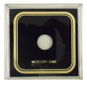 Capital Plastics VPX Coin Holder - Mercury Dime