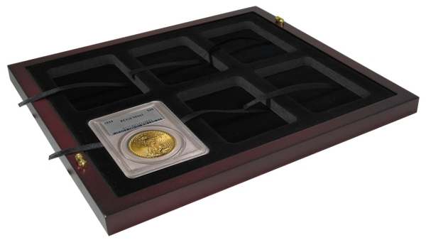 Certified Coin Slab Tray - Holds 6 Slabs