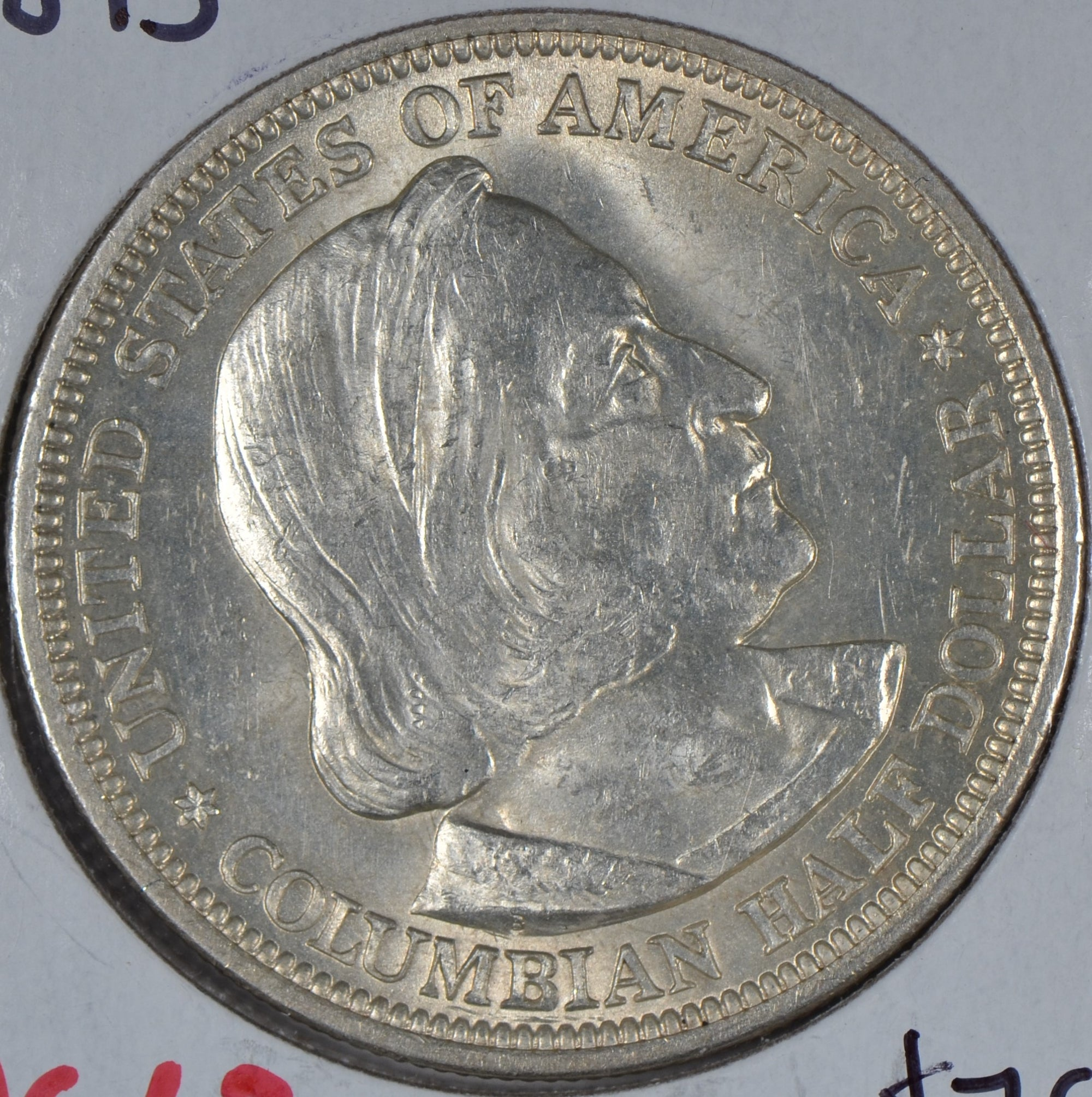 1893 Colombian Silver Commemorative Half Dollar Mint State