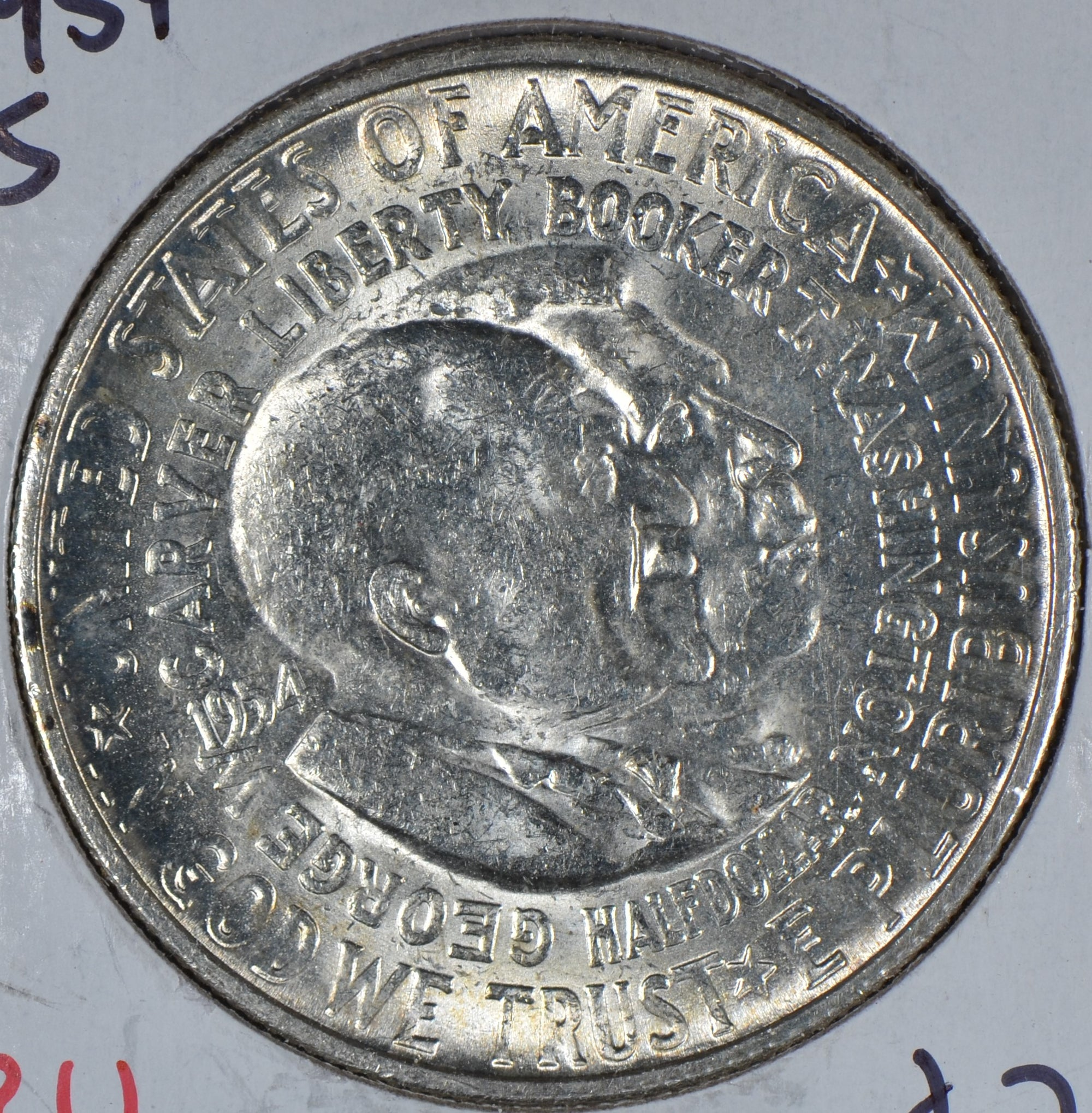 1954-S Washington Carver Silver Commemorative Half Dollar Mint State