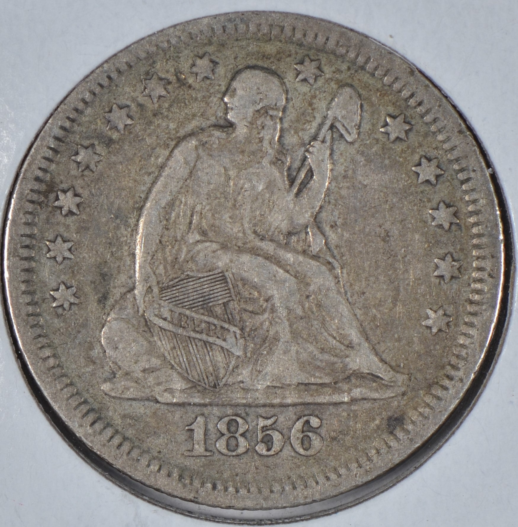 1856 Seated Liberty Quarter Very Fine