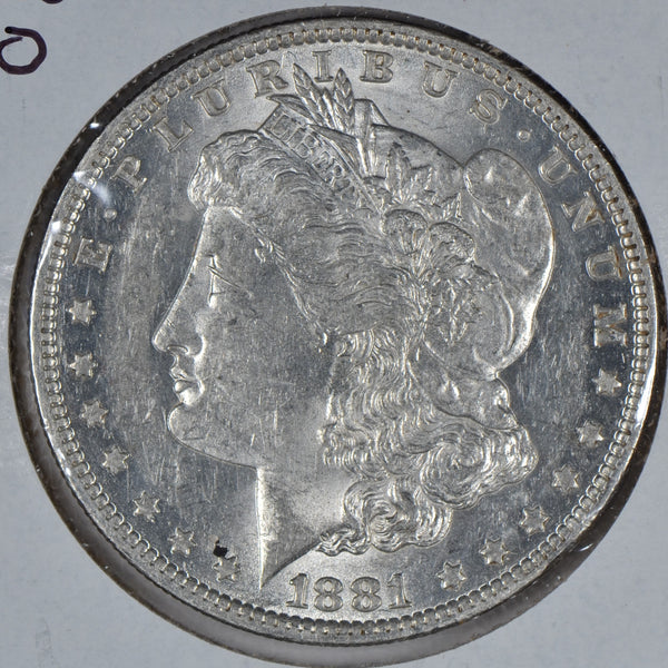 1881-O Morgan Dollar Mint State