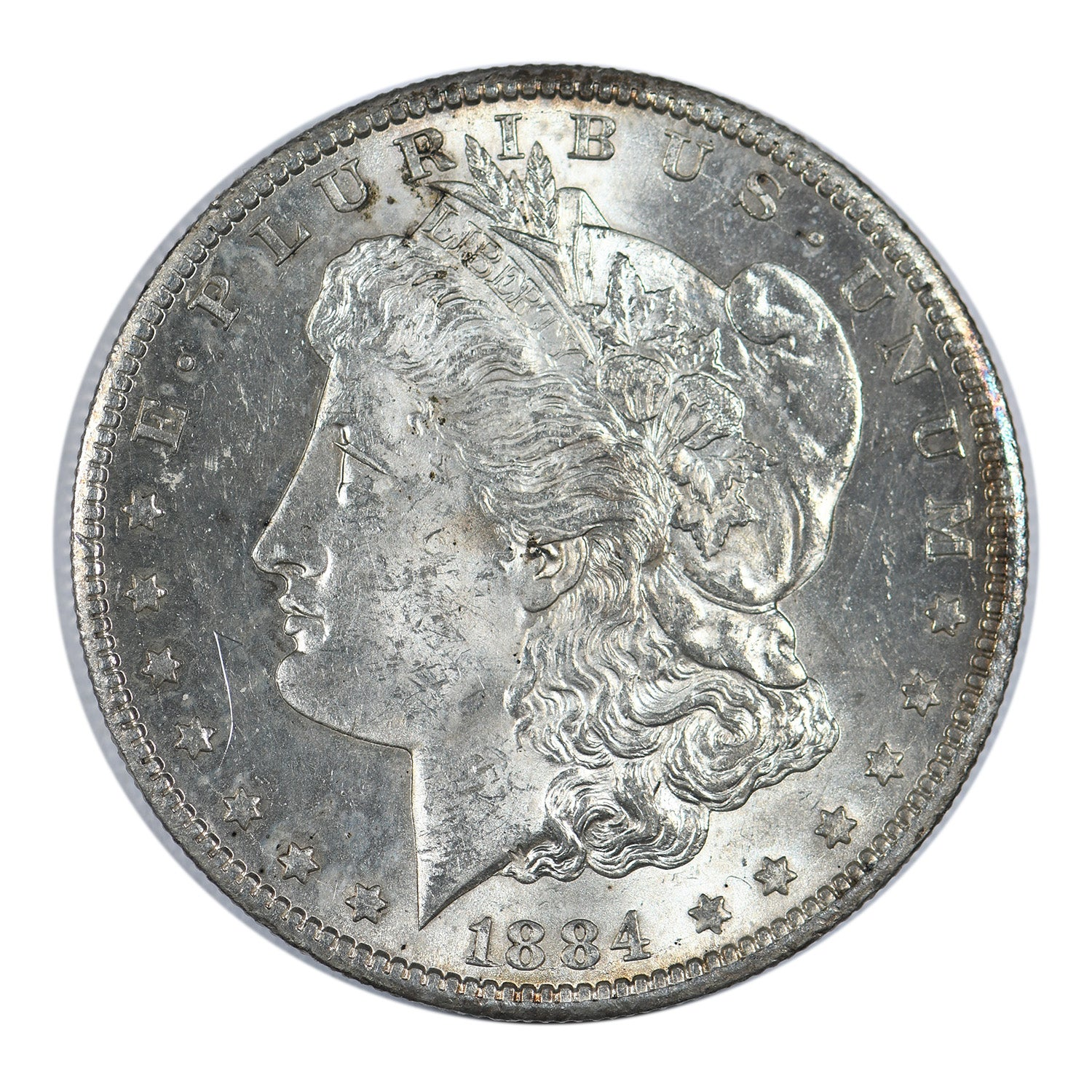 1884-CC Morgan Dollar Mint State Condition