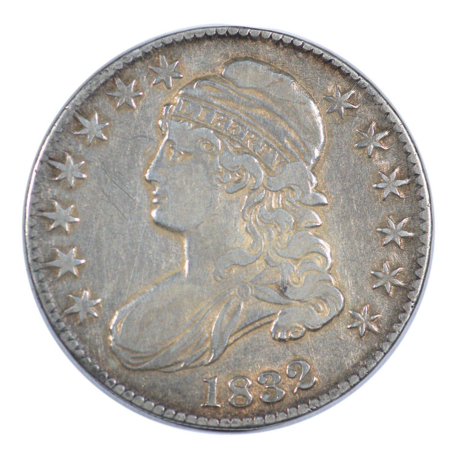 1832 Capped Bust Half Dollar Large Letters Fine Condition