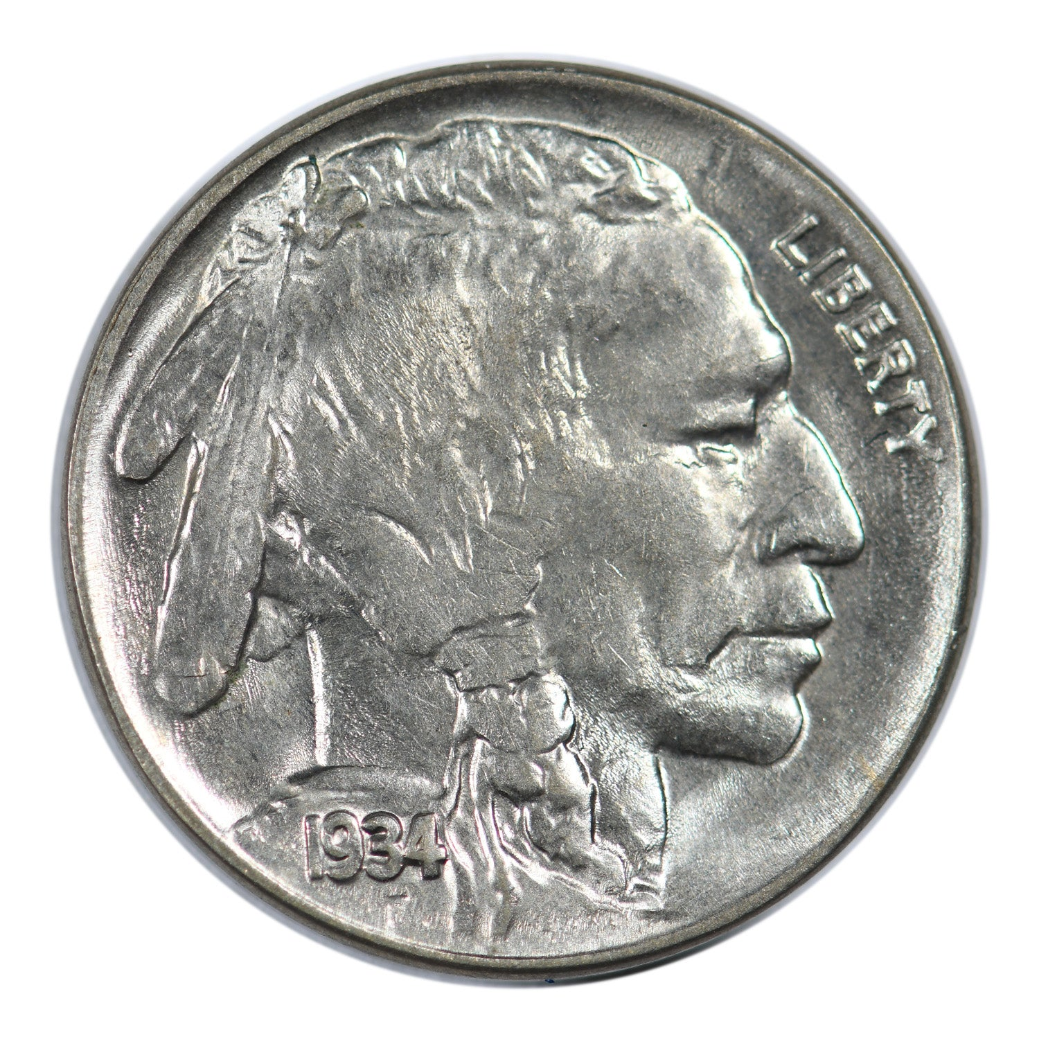 1934 Buffalo Nickel Mint State Condition
