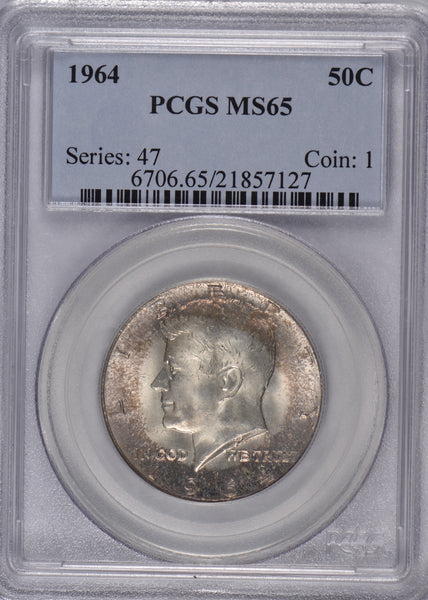 1964 Kennedy Dollar PCGS MS65
