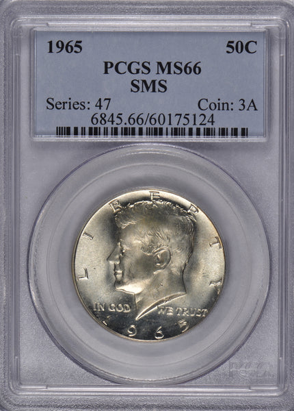1965 Kennedy Dollar PCGS MS-66 #180709